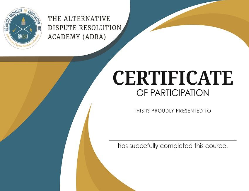 Certificate Template 850 650